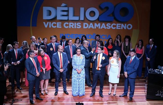 734c0ba60baee DF  Délio Lins e Silva Jr. lança oficialmente a chapa 20 ...