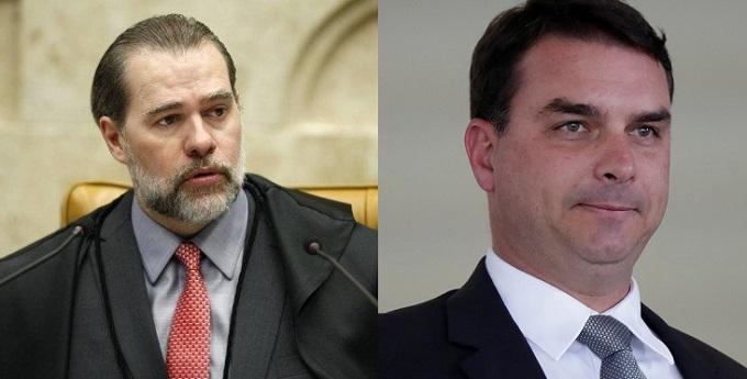 Toffoli atende pedido de Flávio Bolsonaro e suspende inquéritos com informações do Coaf